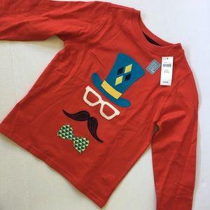 ⭐️5/$25 NEW Gap Kids red long sleeve shirt
